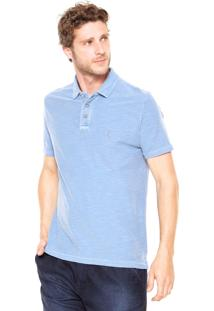 Camisa Polo Reserva Flame Azul
