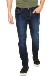 Calça Jeans Rock Blue Lisa Azul