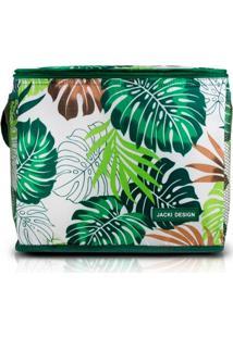 Bolsa Tã©Rmica Grande Jacki Design Praia Piquenique Verde . - Verde - Dafiti