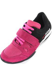 Tenis Rock Fit Para Pink E Preto