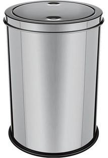 Lixeira Basculante- Inox- 12L- Euro Homewareeuro Homeware