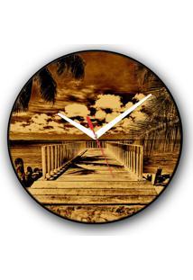 Relógio De Parede Colours Creative Photo Decor Decorativo, Criativo E Diferente - Pier