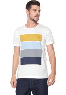Camiseta Aramis Block Color Off-White