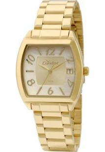 Relógio Condor Feminino Co2115Tf/4X Co2115Tf/4X - Feminino-Dourado