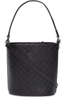 Bolsa Bucket Bag Capodarte – Preto