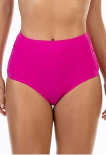 Calcinha Ilhas Rio Hot Pant Franzida Na Lateral Rosa - Tricae