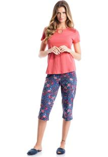 Pijama Tamara Pescador Denim/Xg
