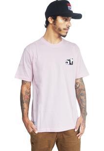 Camiseta Make Panda1 Rosa