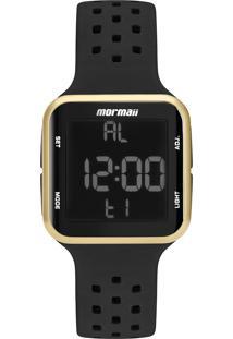 Relógio Digital Mormaii Unissex - Mo6600/8D Preto