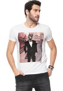 Camiseta Sergio K Anti Social Branca