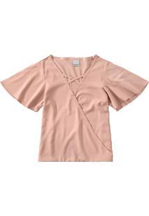 Blusa Transpassada Malwee