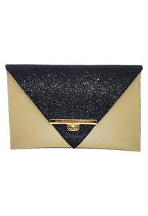 Clutch Dona Constance Envelope Bege