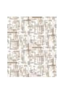 Papel De Parede Adesivo Decoração 53X10Cm Bege -W22548