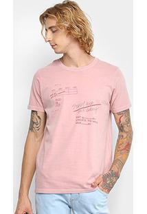 Camiseta Colcci Estampada Masculino - Masculino
