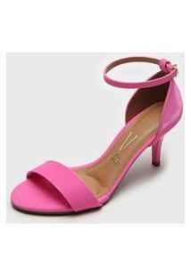 Sandália Vizzano Salto Fino Pink