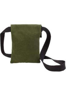 Bolsa Sidewalk Pequena Lona - Unissex-Verde Militar