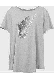 Camiseta Nike Sportswear Prep Futu Cinza - Kanui