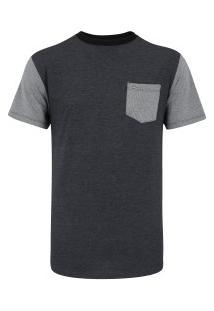 Camiseta Hurley Especial Imperial - Masculina - Cinza Escuro