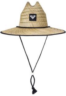 Chapéu De Palha Roxy Tomboy 2 - Feminino-Amarelo Claro