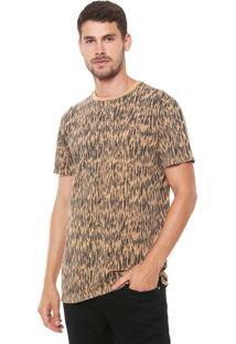 Camiseta Reserva Long Camuflado Caramelo