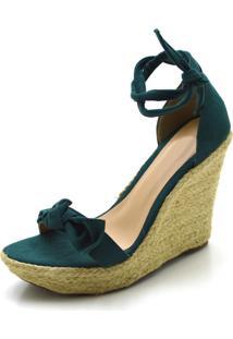 Sandã¡Lia Anabela Gasparini Com Laã§O Verde