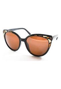 Óculos De Sol Evant Marrom