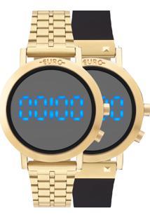 Relógio Euro Feminino Troca Pulseira Eubj3407Aa/T4P