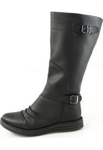 Bota Vegano Shoes Tulipa Preta