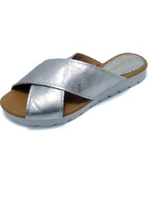 Chinelo Birken G Shoes Prata