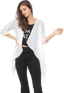 Kimono Guess Liso Off-White