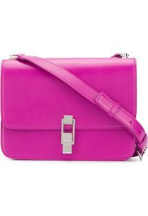 Saint Laurent Carre' Shoulder Bag - Rosa