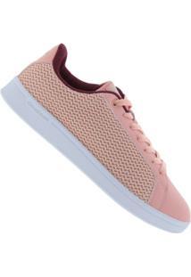 ... Tênis Adidas Neo Cf Advantage Clean - Feminino - Rosa 743a53ccca1d6