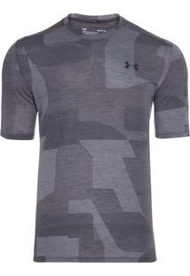 Camiseta Masculina Threadborne Print - Cinza