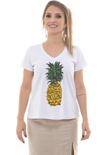 Camiseta Maria Escandalosa Abacaxismo Branca