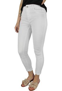 Calça Jeans Feminina Instinto Branco - 40