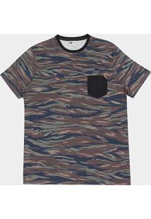 Camiseta Mcd Especial Full Camouflage Masculina - Masculino