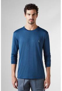 Camiseta Reserva Ml Proteçao Solar - Masculino-Marinho