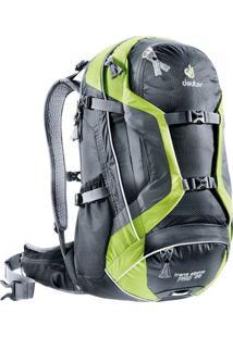 Mochila Deuter Trans Alpine Pro 28 Preto E Verde Preto