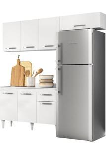 Cozinha Modulada 3 Módulos Composição 3 Branco - Lumil Móveis