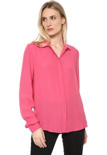 Camisa Forum Lisa Rosa