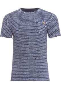 Camiseta Masculina Refined Laundred Ebony - Cinza