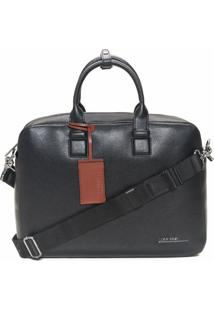Bolsa Laptop Básica Em Pu Calvin Klein - Preto - U