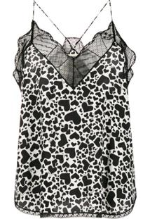 Zadig&Voltaire Camisola Com Estampa Christy Heart - Branco