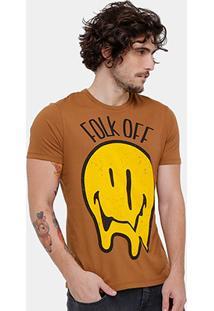 Camiseta Ellus 2Nd Floor Folk Off Masculina - Masculino