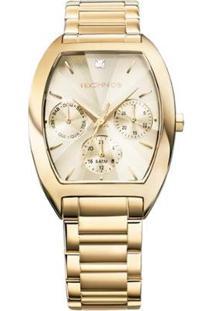 Relógio Technos Feminino Dourado - 6P29Agf/4X 6P29Agf/4X - Feminino-Dourado