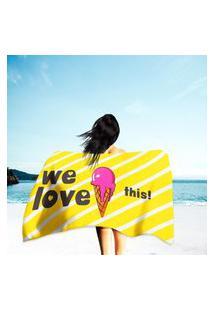 Toalha De Praia / Banho We Love This! Único