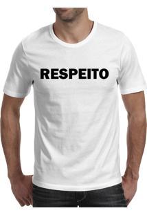 Camiseta Hunter Respeito Branca