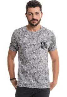 Camiseta Tropical Vibes Branco Bgo