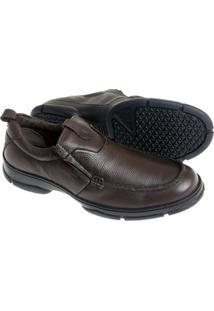 Sapato Sândalo Confort Kairo Masculino - Masculino-Cafe