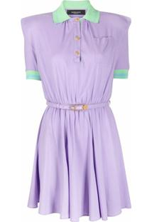 Versace Vestido Polo - Roxo